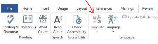 Word 2016 Translate Button Greyed Out – Vince's Tech Tips